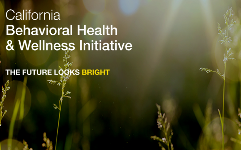 California Behavioral Health & Wellness Initiative