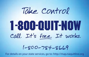 Quit Now Card: Front